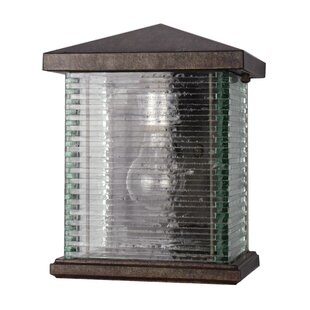 Looking for Eslettes 1-Light Outdoor Flush Mount By Loon Peak