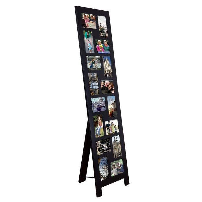 Latitude Run Guyer 16 Opening Wood Floor-Standing Easel Picture ...
