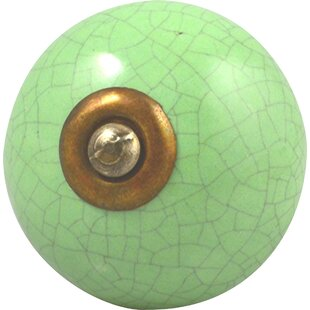 Handpainted Round Knob (Set Of 4) by Charleston Knob Company Spacial Price
