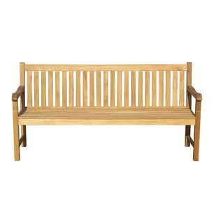 Diep Outdoor Wood Garden Bench by Brayden Studio