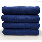 Luxurious 4 Piece 100% Cotton Bath Sheet Towel Set (Set of 4)