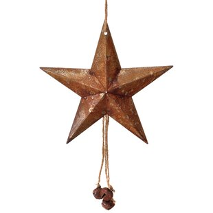 10 metal star and jingle bell shaped ornament by the holiday aisle - Metal Christmas Ornaments
