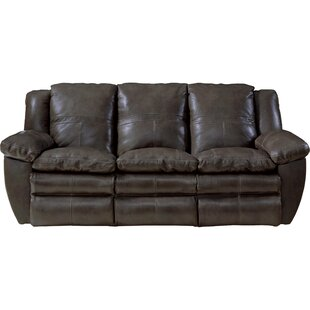 Aria Leather Reclining Sofa by Catnapper