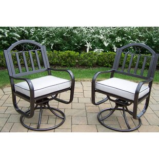 Rochester Swivel Rocking Chair with Cushions (Set of 2)