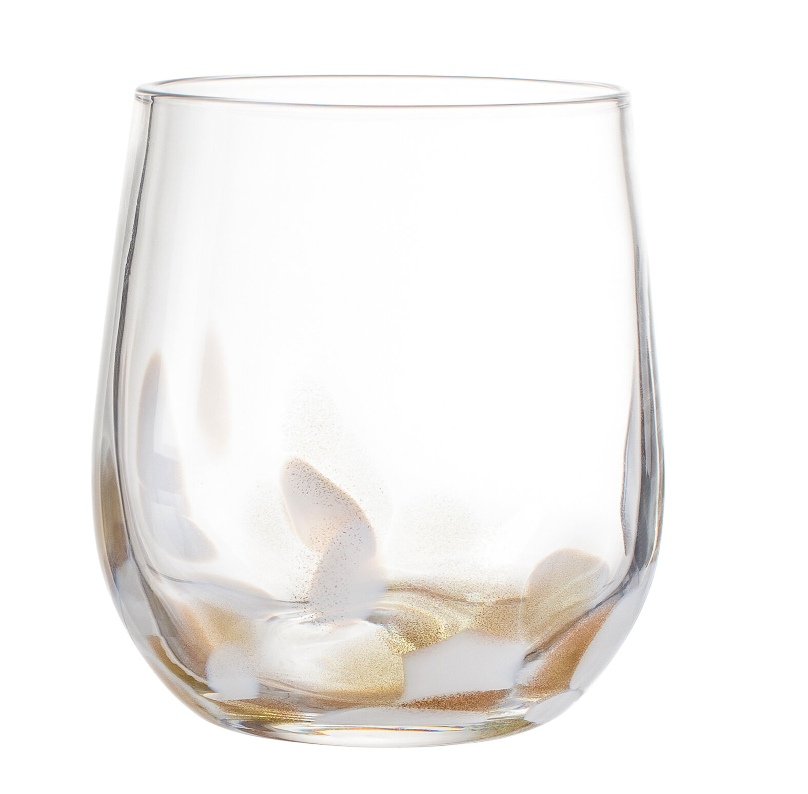 elle decor simone 16 oz glass every day glass birch lane - 16 Oz Glass