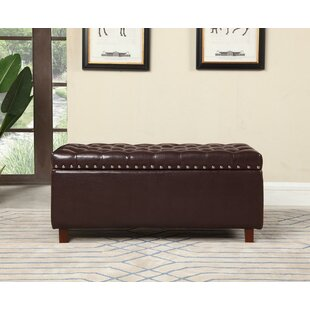 Maleah Tufted Storage Ottoman by Charlton Home