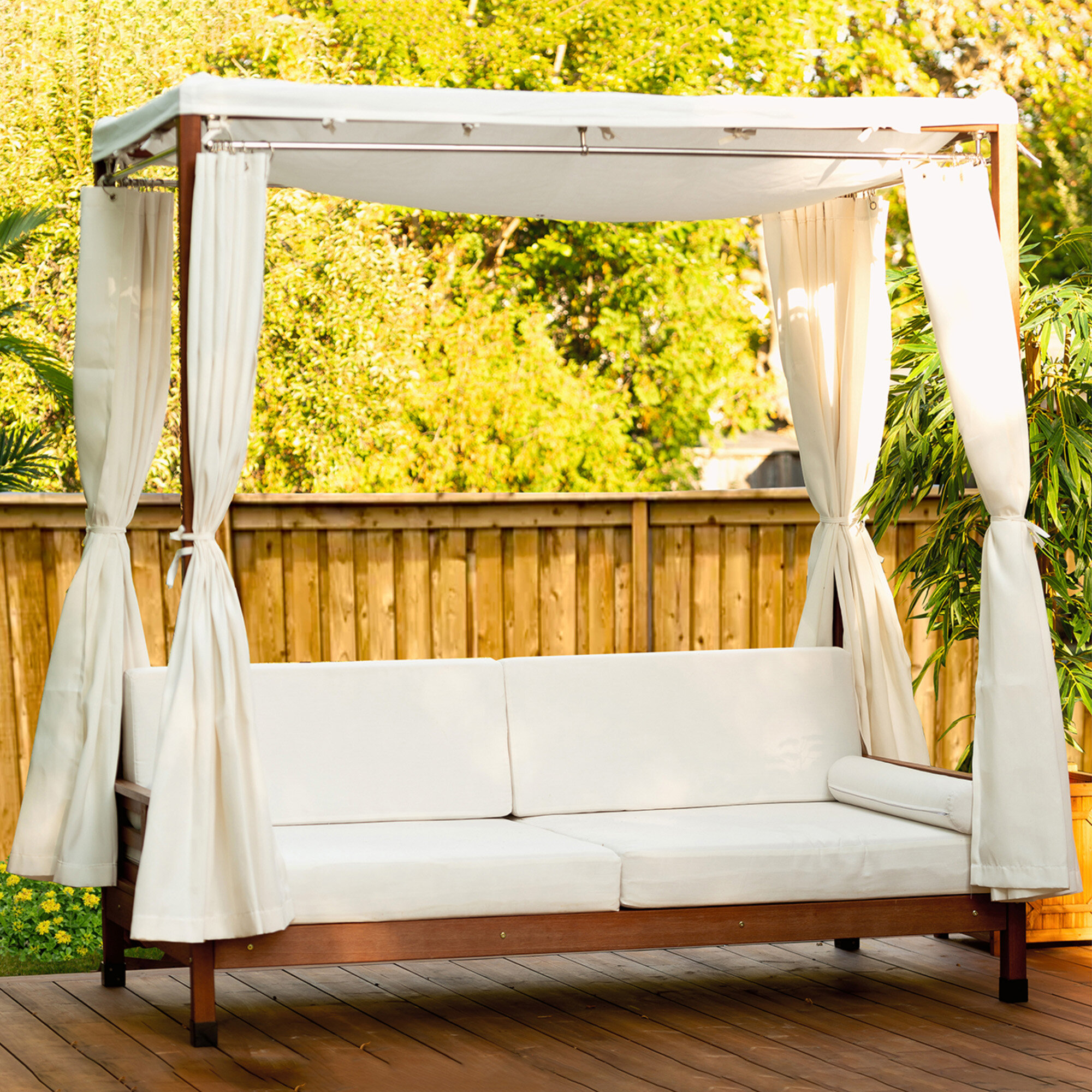 - Leisure Season Daybed With Cushions: Outdoor Wayfair