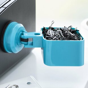 FECA Suction Cup Paper Clip Holder