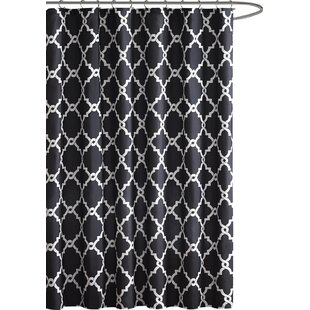 Black Shower Curtains Youu0027ll Love | Wayfair