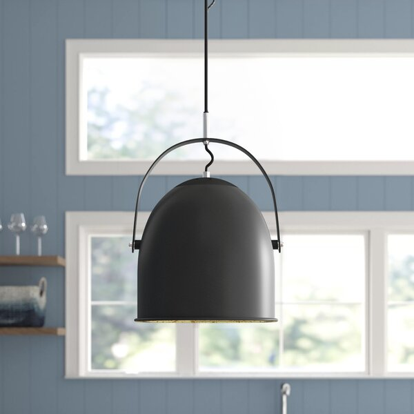 Prestia 1 Light Single Dome Pendant Joss Main