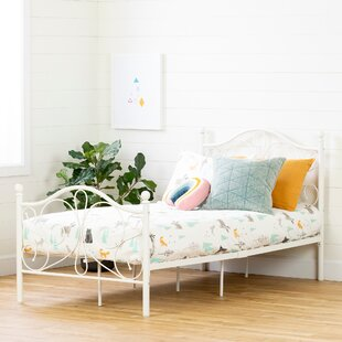 Country Poetry Platform Bed by South Shore