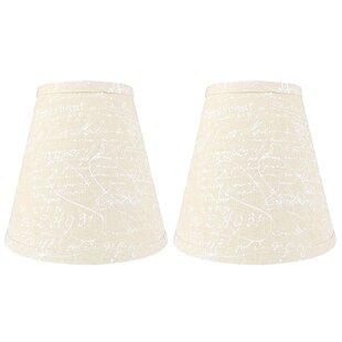 Hardback 9 Linen Empire Lamp Shade (Set of 2)
