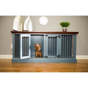 Damien Double Wide Small Credenza Pet Crate by Archie & Oscar