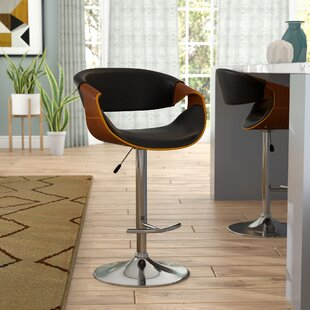 Alvin Height Adjustable Swivel Bar Stool By Corrigan Studio