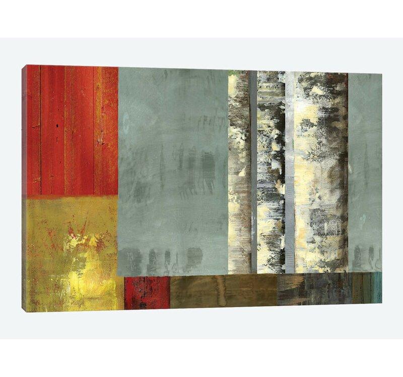 East Urban Home Silver Creek Print On Canvas Wayfair