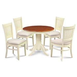 Cedarville Elegant 5 Piece Dining Set by Alcott Hill