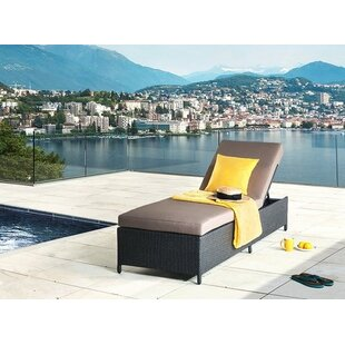 Home Loft Concepts Reclining Chaise Lounge with Cushion