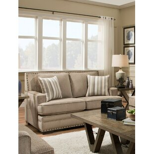 Nakia Loveseat by Darby Home Co Great Reviews