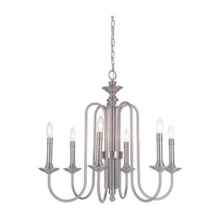 Charlton Home Ellingson 6-Light Chandelier