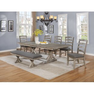 Ricki 7 Piece Dining Set Canora Grey