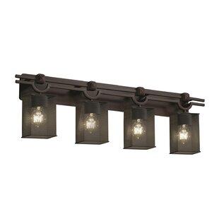 Affordable Price Bennett 4-Light Vanity Light By 17 Stories