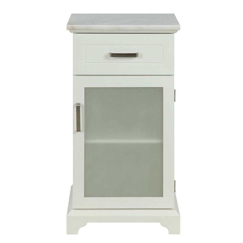 Winston Porter Byrine 1 Door Accent Cabinet Wayfair