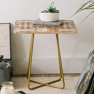 Price comparison Jacqueline Maldonado Mirror Dye End Table by East Urban Home