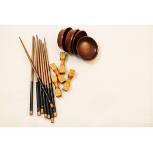 16 Piece Chopstick Flatware Set, Service for 4