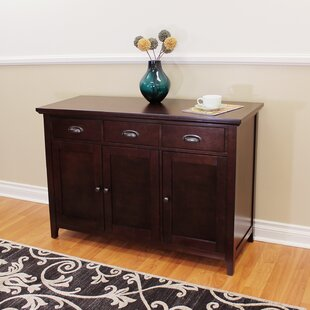 Dravin Wood Sideboard Red Barrel Studio