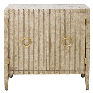 Brinsmead Traditional Stamped Ornate Metal 2 Doors Accent Chest by Mercer41