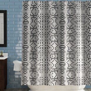 Look for Boysen Tiles Vinyl Shower Curtain By Ebern Designs