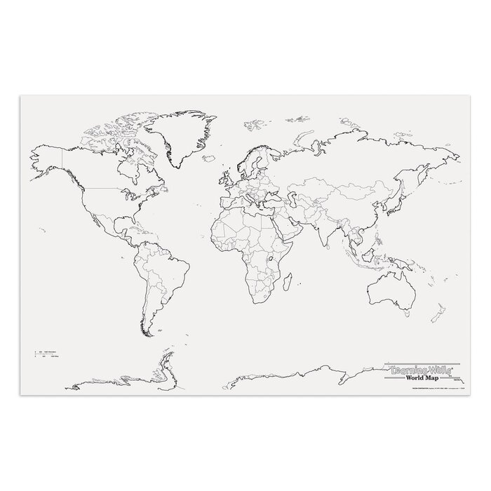 Pacon creative products giant world map wayfair giant world map gumiabroncs Choice Image