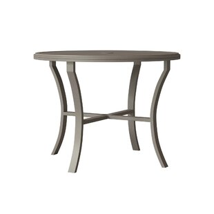 Banchetto Counter Height Aluminum Dining Table