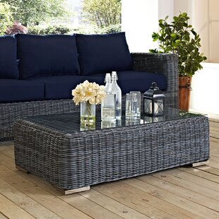 Keiran Outdoor Patio Coffee Table by Brayden Studio Amazing