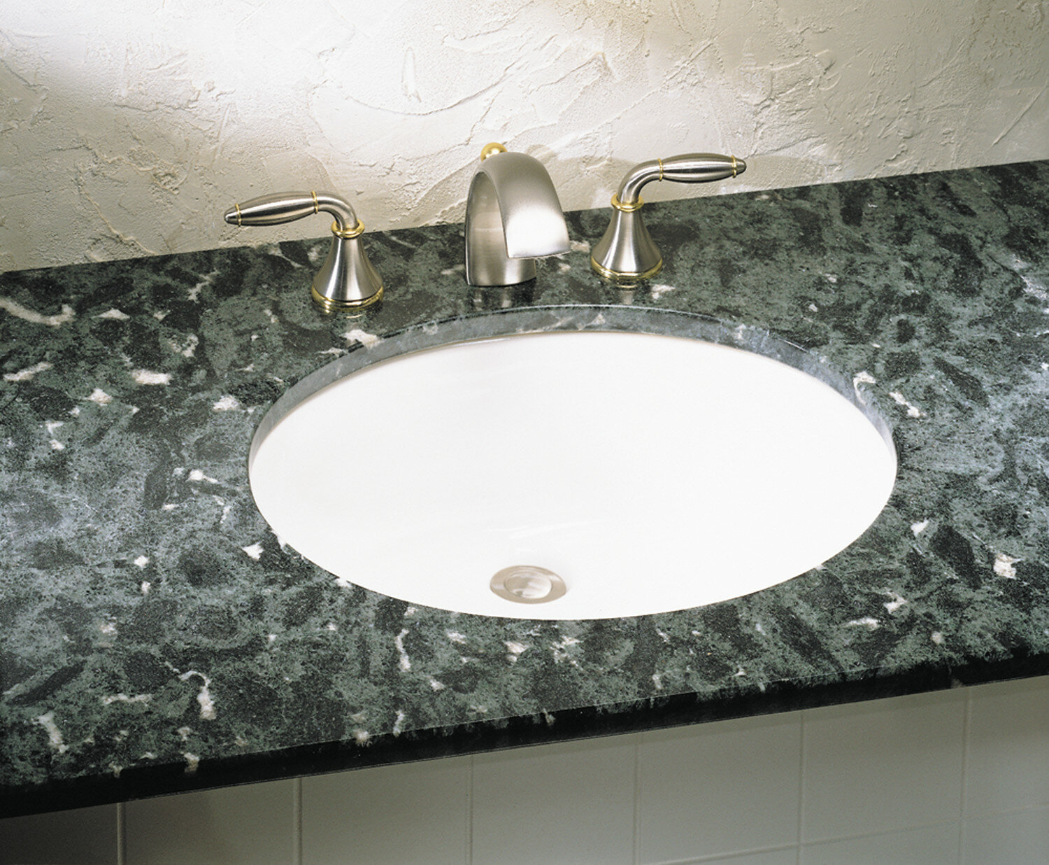 American Standard Ovalyn Ceramic Oval Undermount Bathroom Sink With