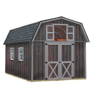 Best Barns Woodville 10 Ft W Solid Wood Storage Shed