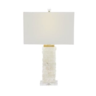 Modern Textured Marble 26 Table Lamp