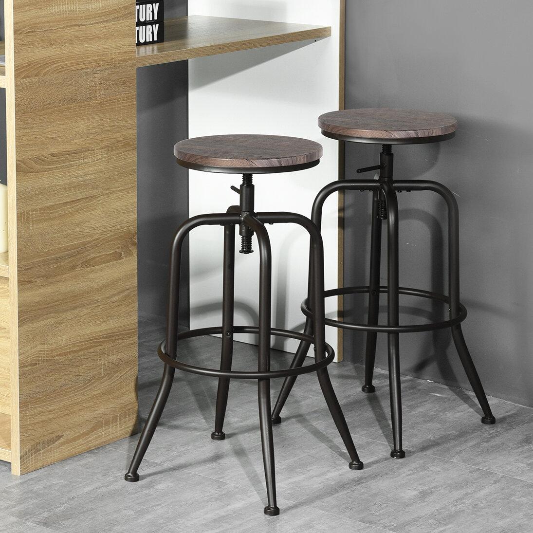 Swell Jolene Adjustable Height Swivel Barstools Cjindustries Chair Design For Home Cjindustriesco