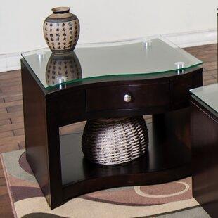 Espresso End Table