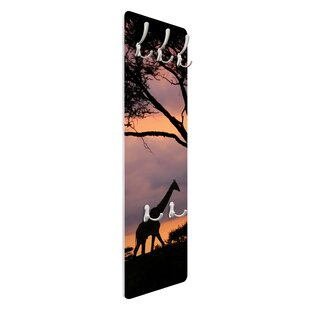 Safari In Africa Wall Mounted Coat Rack By Symple Stuff