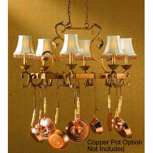 Classic Lighting Asheville 6-Light Kitchen Island Pendant