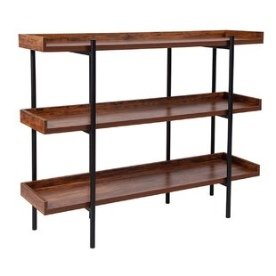 Hedrick Standard Bookcase by 17 Stories