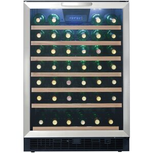 50 Bottle Single Zone Convertible Wine Cooler by Danby