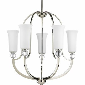 Macced 5-Light Shaded Chandelier