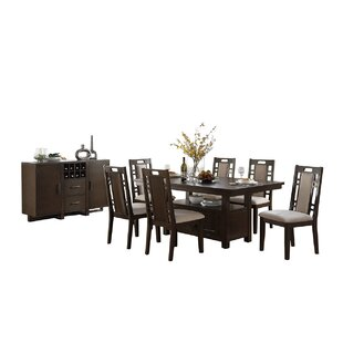 Bobkona Parker 8 Piece Dining Set