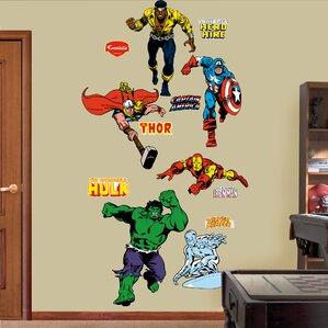 Super Hero Wall Decals Wayfair - Superhero wall decals