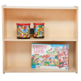 Contender 2 Compartment Shelving Unit by Wood Designs