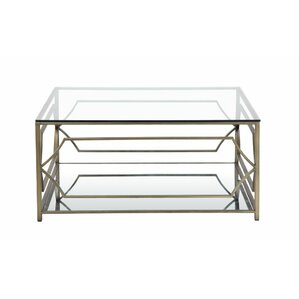 Emmett Square Mirrored Coffee Table