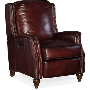 Hooker Furniture Bran Leather Power Recliner