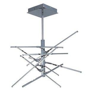 Orren Ellis Calamus 8-Light LED Sputnik Chandelier